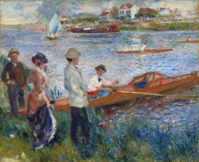 Auguste Renoir  - Oarsmen at Chatou, 1879