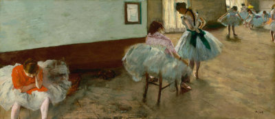 Edgar Degas - The Dance Lesson, c. 1879