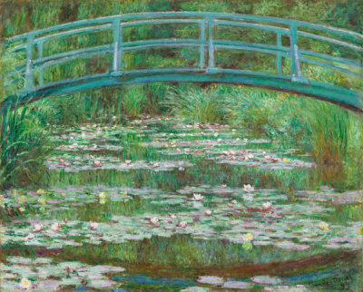 Claude Monet - The Japanese Footbridge, 1899