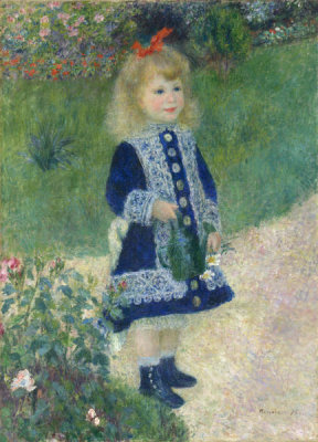 Auguste Renoir - A Girl with a Watering Can, 1876