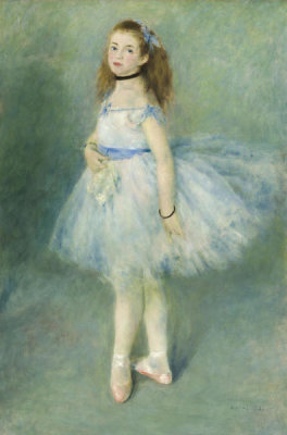 Auguste Renoir - The Dancer, 1874