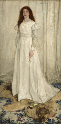 James McNeill Whistler - Symphony in White, No. 1: The White Girl, 1862