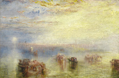 Joseph Mallord William Turner - Approach to Venice, exhibited 1844