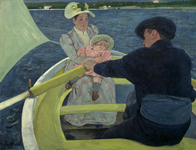Mary Cassatt - The Boating Party, 1893/1894