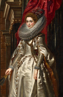 Sir Peter Paul Rubens - Marchesa Brigida Spinola Doria, 1606