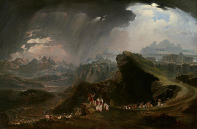 John Martin - Joshua Commanding the Sun to Stand Still upon Gibeon, 1816