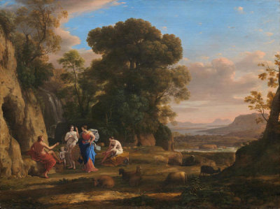 Claude Lorrain - The Judgment of Paris, 1645/1646