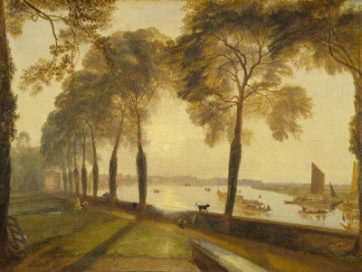 Joseph Mallord William Turner - Mortlake Terrace, 1827