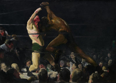 George Bellows - Both Members of This Club, 1909