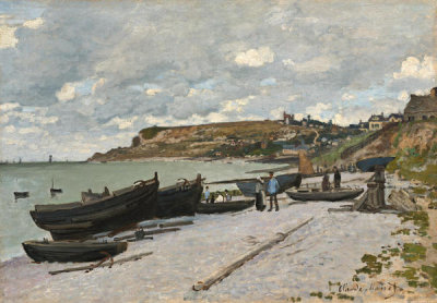 Claude Monet - Sainte-Adresse, 1867