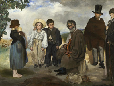 Edouard Manet - The Old Musician, 1862