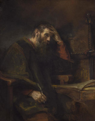 Rembrandt van Rijn - The Apostle Paul, c. 1657