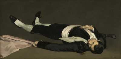 Edouard Manet - The Dead Toreador, probably 1864