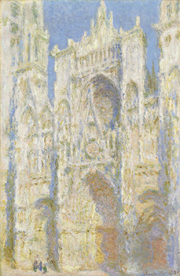 Claude Monet - Rouen Cathedral, West Façade, Sunlight, 1894