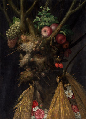 Giuseppe Arcimboldo - Four Seasons in One Head, c. 1590
