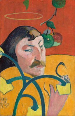 Paul Gauguin - Self-Portrait, 1889