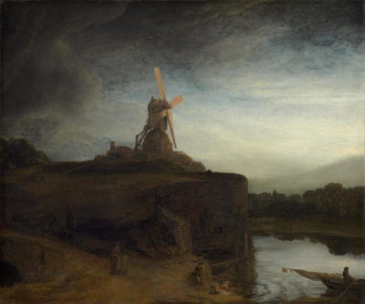 Rembrandt van Rijn - The Mill, 1645/1648