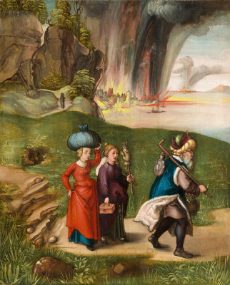 Albrecht Dürer - Lot and His Daughters, c. 1496/1499