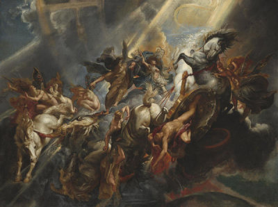 Sir Peter Paul Rubens - The Fall of Phaeton, c. 1604/1605