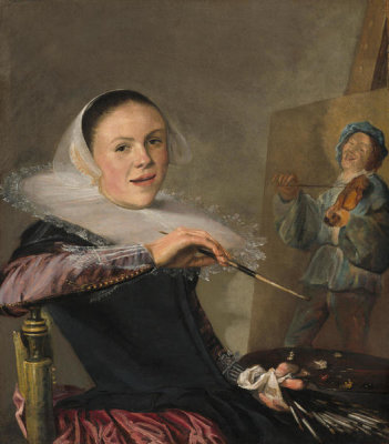 Judith Leyster - Self-Portrait, c. 1630