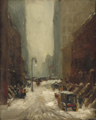 Robert Henri - Snow in New York, 1902