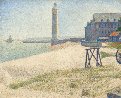 Georges Seurat - The Lighthouse at Honfleur, 1886