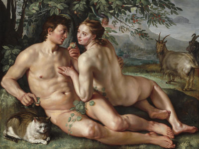 Hendrick Goltzius - The Fall of Man, 1616