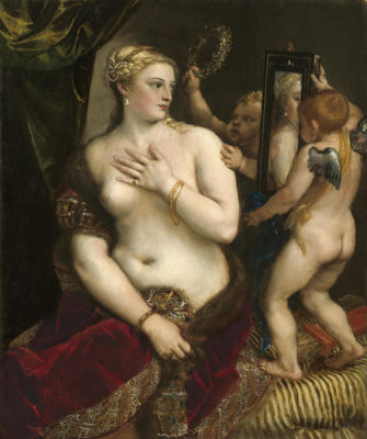Titian - Venus with a Mirror, c. 1555
