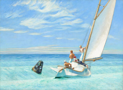 Edward Hopper - Ground Swell, 1939
