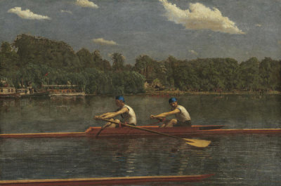 Thomas Eakins - The Biglin Brothers Racing, 1872