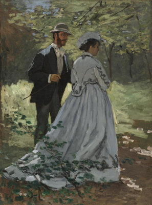 Claude Monet - Bazille and Camille (Study for