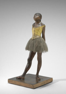 Edgar Degas - Little Dancer Aged Fourteen, 1878-1881