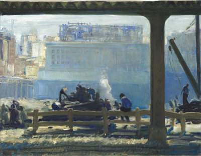 George Bellows - Blue Morning, 1909