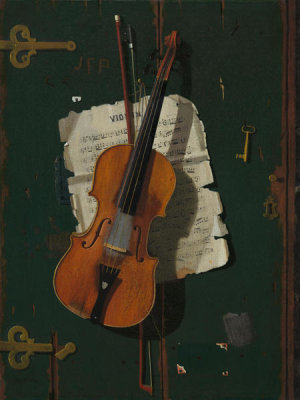 John Frederick Peto - The Old Violin, c. 1890
