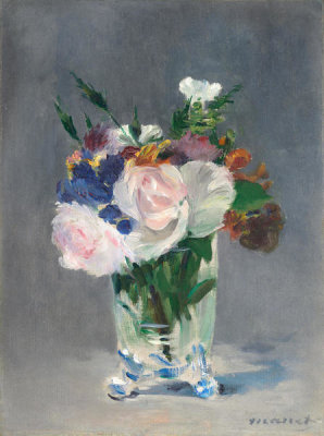 Edouard Manet - Flowers in a Crystal Vase, c. 1882
