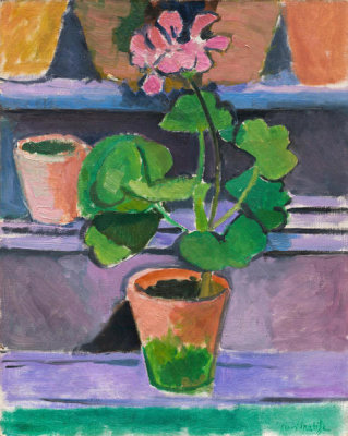 Henri Matisse - Pot of Geraniums, 1912