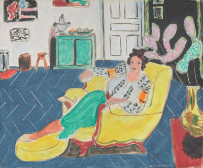 Henri Matisse - Woman Seated in an Armchair, 1940
