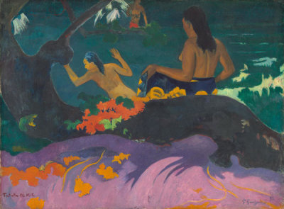 Paul Gauguin - Fatata te Miti (By the Sea), 1892