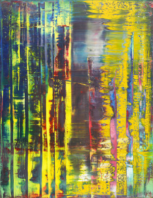 Gerhard Richter - Abstract Painting 780-1, 1992