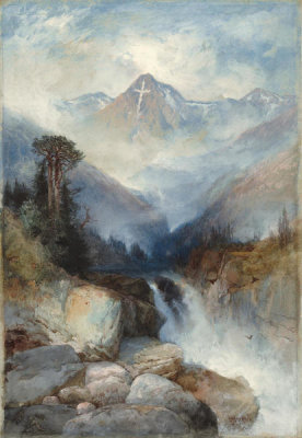 Thomas Moran - Mountain of the Holy Cross, 1890