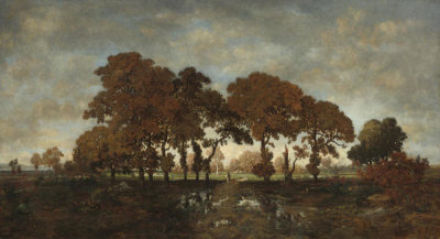 Théodore Rousseau - After the Rain, c. 1850