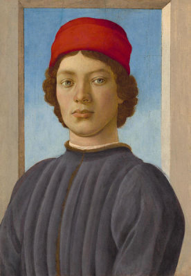 Filippino Lippi - Portrait of a Youth, c. 1485