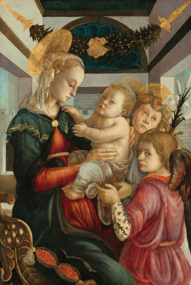 Sandro Botticelli - Madonna and Child with Angels, 1465/1470