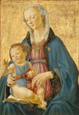 Domenico Ghirlandaio - Madonna and Child, c. 1470/1475