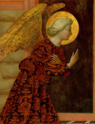 Masolino da Panicale - The Archangel Gabriel, c. 1430