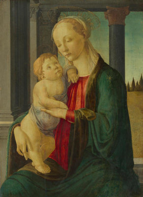 Sandro Botticelli - Madonna and Child, c. 1470