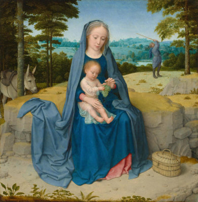 Gerard David - The Rest on the Flight into Egypt, c. 1510
