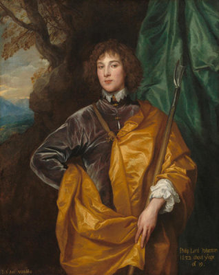 Sir Anthony van Dyck - Philip, Lord Wharton, 1632